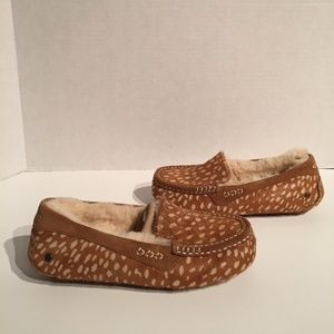 Ugg Ansley Idyllwild Cowhair Slippers